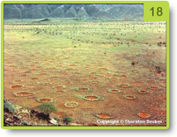 """Fairy circles"" in Namibia"