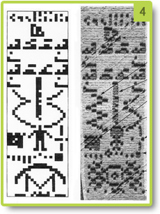 Comparison of the Arecibo (1974) and Chibolton (2001) messages