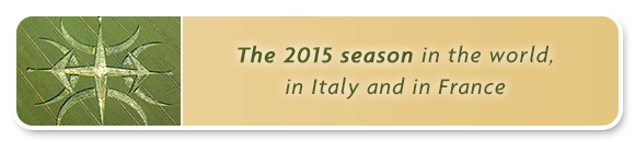 The 2015 season in the world, in Italy and in France