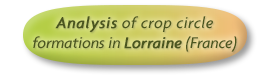 Analysis of crop circle formations in Lorraine (France)
